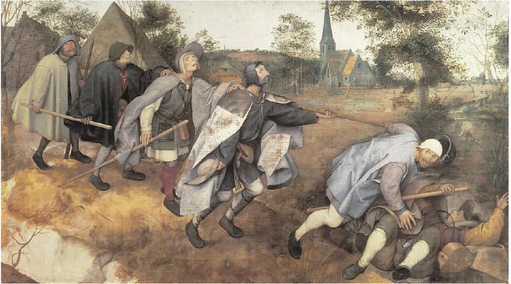 Bruegel l'Ancien (1568) The Blind Leading the Blind