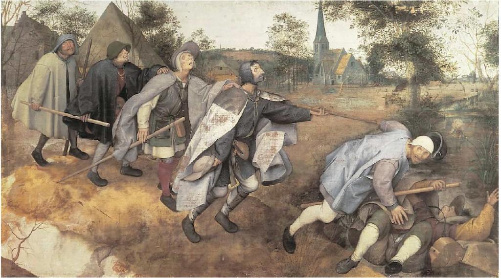Bruegel l'Ancien (1568) The Blind Leading the Blind